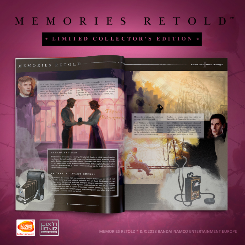11-11: Memories Retold – Collector's Edition Graphic Novel
